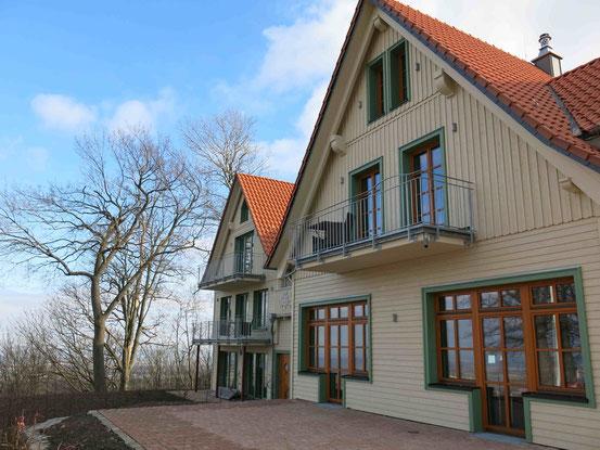 """Aussenansicht """"Gast- und Logierhaus Aussichtsreich"""" auf dem Burgberg/ Bad Harzburg"""
