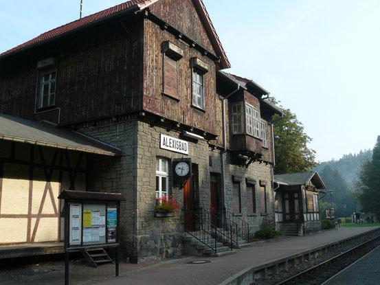 Bahnhof Alexisbad im Harz