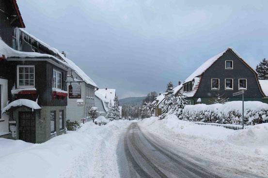Hohegeiß im Schnee