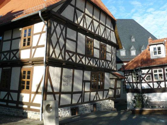 Museum Schiefes Haus/ Schiefes Fachwerkhaus in Wernigerode