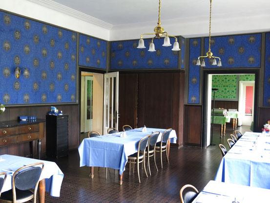 Der Speisesaal im Sanatorium Dr. Barner in Braunlage
