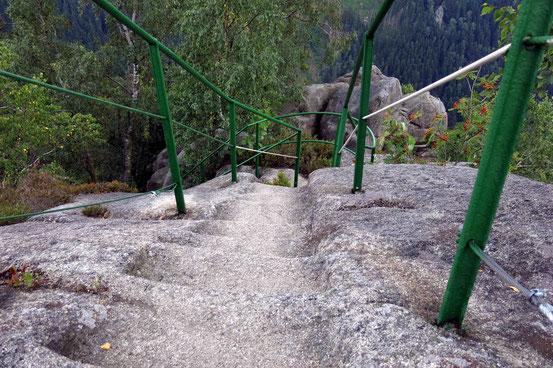 Harz Treppenstein