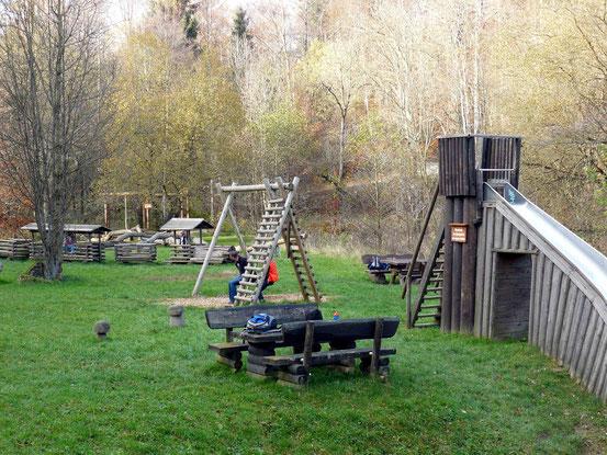 Waldspielplatz beim Molkenhaus/ Bad Harburg