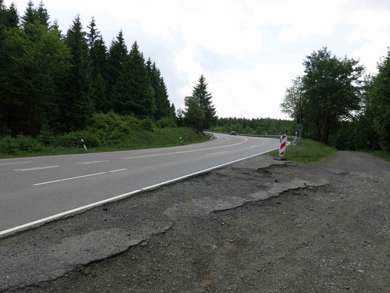 Harz, B4, etwa 1,5km nördlich von Torfhaus