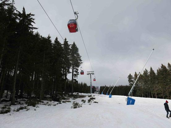Skigebiet Wurmberg/ Braunlage Seilbahn