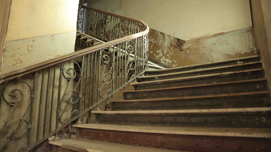 Hotel Zehnpfund Thale Treppe