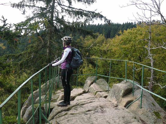 Rabenklippen bei Bad Harzburg/ Harz