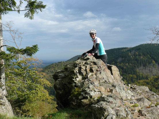 Aussichtspunkt bei Bad Harzburg