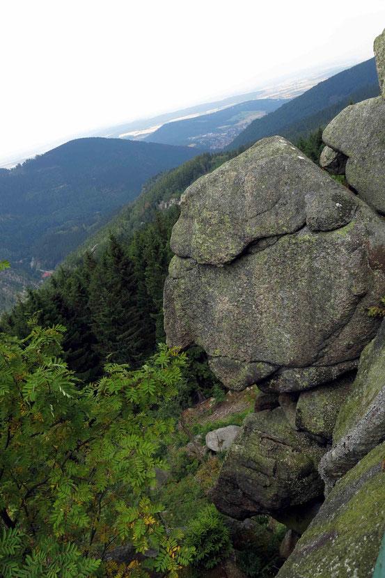 """Kästeklippen, """"Alte vom Berg"""""""