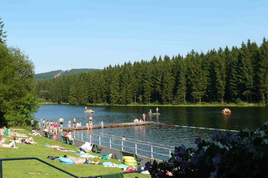 Waldseebad Kuttelbacher Teich