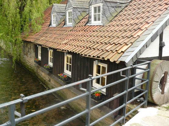 Fluss Abzucht in Goslar, Haus
