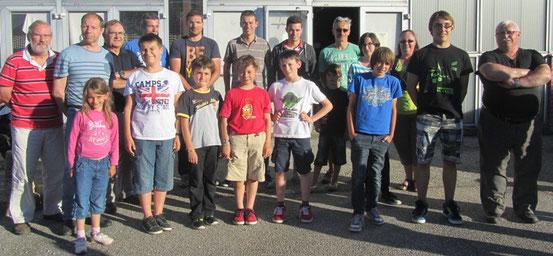 quelques membres du club et du comité départemental présents à l'AG en juin dernier