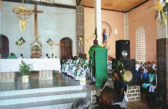 Dankgottesdienst in der Pfarrkirche von Gros Morne