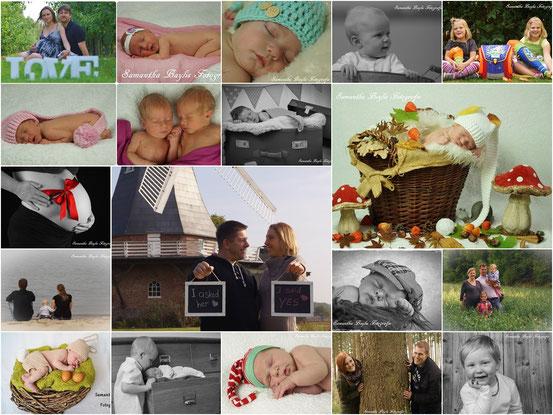 Samantha Baylis Fotografie 2014 Neugeborene, Schwangerschaft, Familie