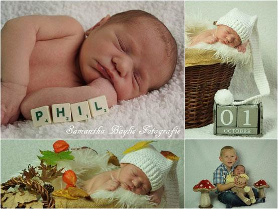 Neugeborene Fotografie Shooting Samantha Baylis