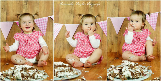 Smash the cake Samantha Baylis Fotografie