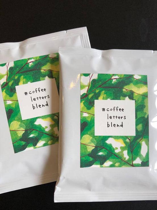 #coffee letters blend(ドリップパック) Jimdo Journey