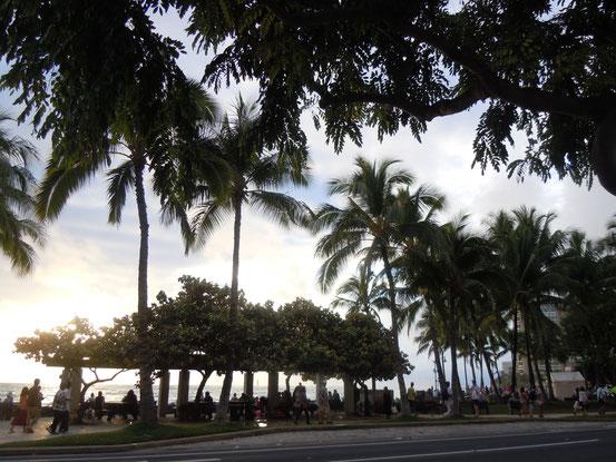 Waikiki am Abend