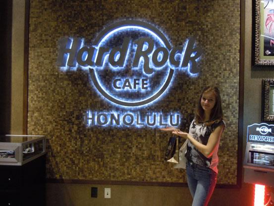 Yeah erstes Hard rock cafe