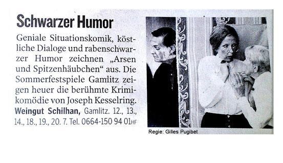 Kleine Zeitung  Juli 2012