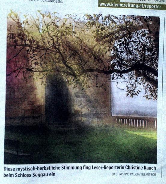 Kleine Zeitung, 3. Oktober 2012