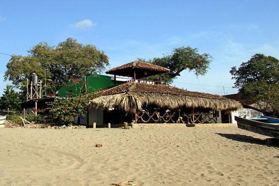 Unsere Strandbar für den Mittag