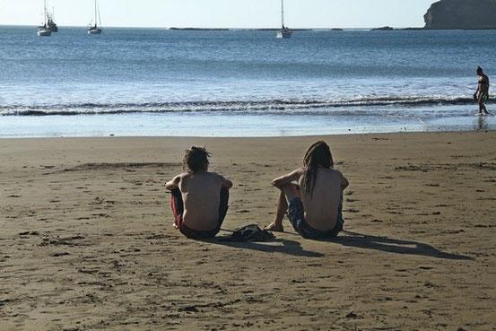 Am Strand von San Juan del Sur