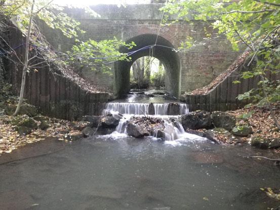 Aval du pont de la RD 119