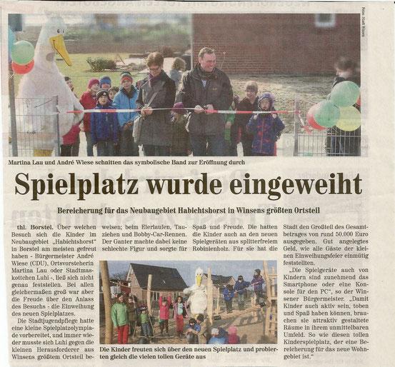 Wochenblatt Elbe und Geest,22.4.15
