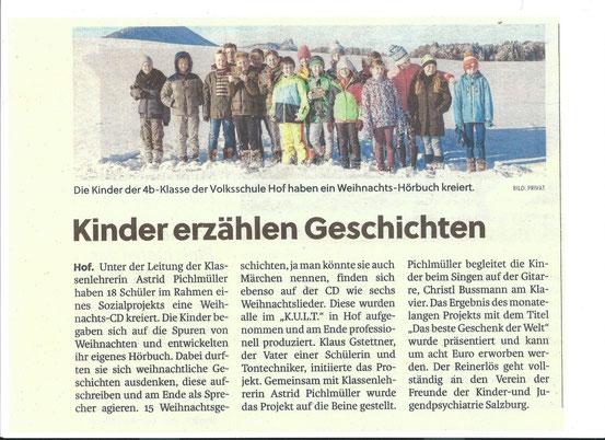 Text aus den Salzburger Nachrichten