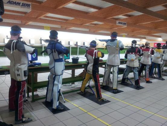 Bilder vom Trainingswettkampf in Leingarten