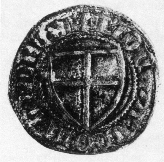 1351 - 1382 Schilling время Винриха фон Книпроде