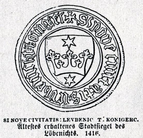 Лёбенихт Кёнигсберг 1416