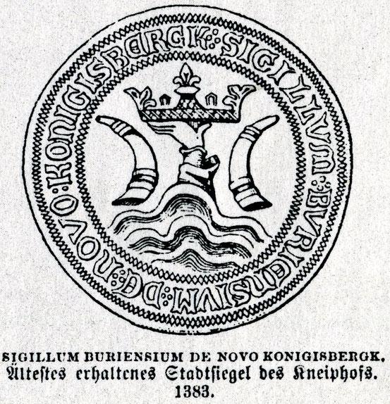 Кнайпхоф-Кёнигсберг 1383