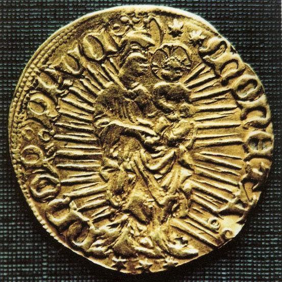 1410-1413 гг. Gulden время Хайнриха фон Плауена