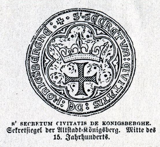 Альтштадт-Кёнигсберг 15 в.
