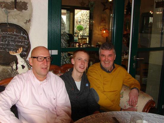 Friedhelm, Oliver, Hans-Gerhard