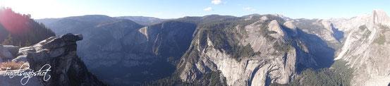 Blick vom Glacier Point