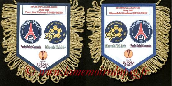 Fanion  PSG-Maccabi Tel-Aviv  2010-11