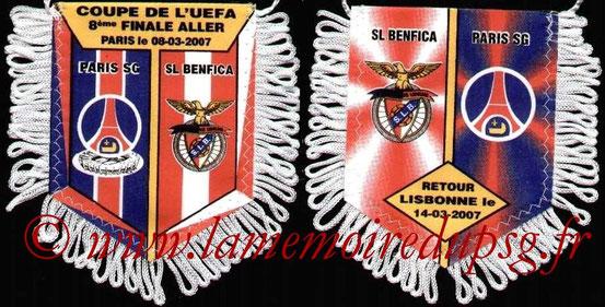Fanion  PSG-SL Benfica  2006-07