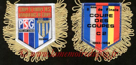 Fanion PSG-Universitatea Craiova  1993-94
