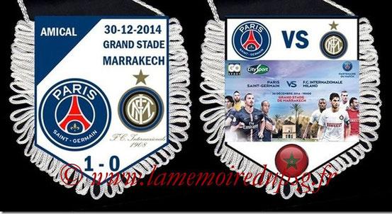 Fanion  PSG-Inter  2014-15