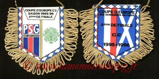 Fanion PSG-Celtic FC  1995-96