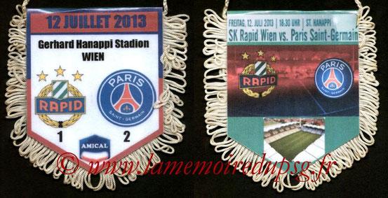 2013-07-12  Rapid Vienne-PSG (Amical à Vienne)