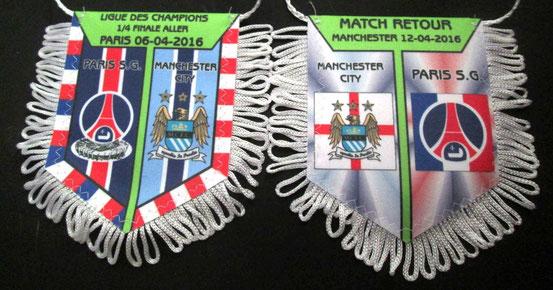 Fanion  PSG-Manchester City  2015-16