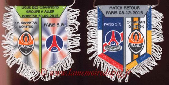 Fanion  PSG-Shakhtar Donetsk  2015-16