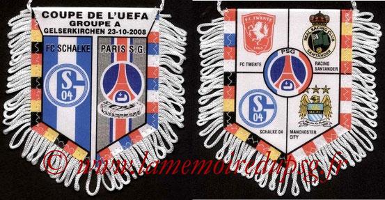 Fanion  Schalke 04-PSG  2008-09