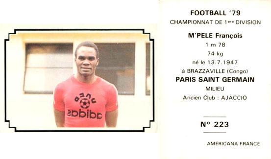 N° 223 - François M'PELE