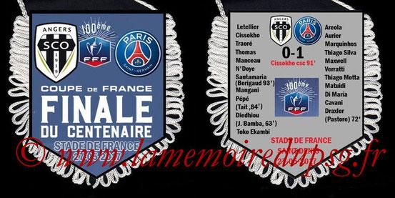 Fanion  PSG-Angers  2016-17