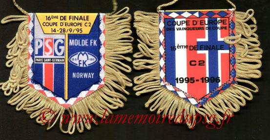 Fanion PSG-Molde FK  1995-96